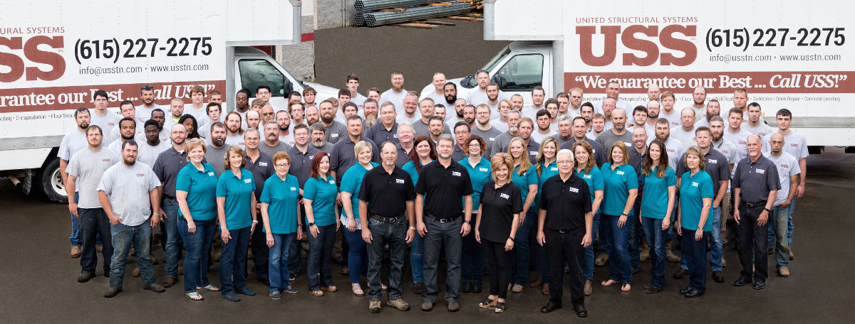 The crew at United Structural Systems